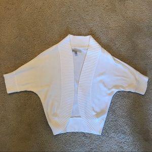 Old Navy White Crop Cardigan - Size XS